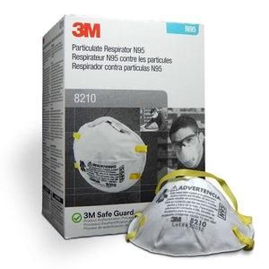 3M™ Particulate Respirator 8210, N95 Mask, Pack of 20