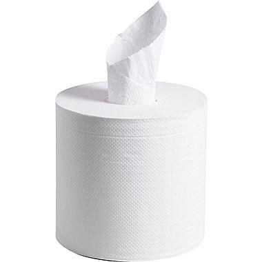 SCOTT® Center Pull Towels, 2-Ply, White, 500 Sheets/Roll, 4 Rolls/Box