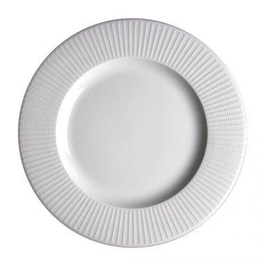 "Steelite® Willow Medium Rim Plate, White, 8"" (2DZ) - RFS066/9117C1184"