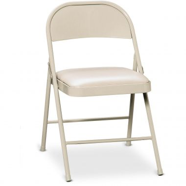 HON FC02 Steel Folding Padded Chair, Pack of 4