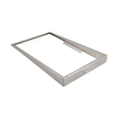 "Bon Chef® Single Stainless Steel Low Riser, 21-1/2"" x 13""- RFS1025/9711"