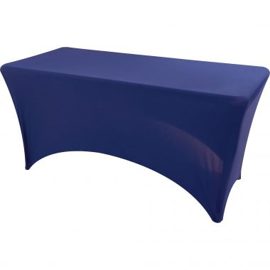 Iceberg Stretchable Fitted Table Cover,Blue