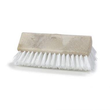 """Carlisle® Sparta Hi-Lo Floor Scrub Brush, White, 10"""" - RFS376/40423 02"""