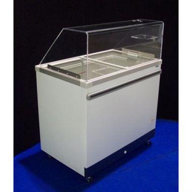 MB® Ice Cream Cabinet w/Lift Lids, White - RFS798/DC-8D