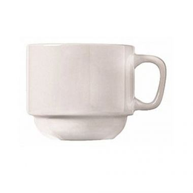 World Tableware® Porcelana Coupe Maui Stacking Cup, 7 oz  (3DZ)- RFS663/840-116-101
