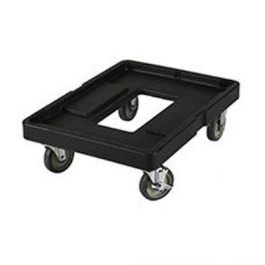 "Cambro® Camdolly® for Dough Boxes, Black, 20"" x 28"" - RFS025/CD1826PDB110"