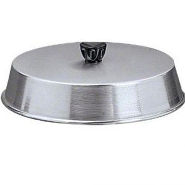 "American Metalcraft® Basting Cover w/ Black Knob, 6"" - RFS035/BA640A"