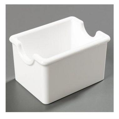 Carlisle® Sugar Packet Caddy, White - RFS376/4550 WHITE