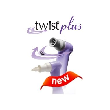 Crosstex TWIST Plus Oscillating Prophy Angles Firm Cups White 100/box