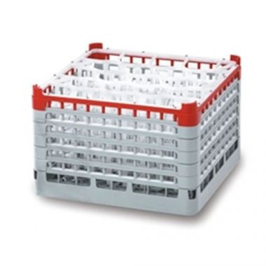 Vollrath® Signature 20/30 Lemon Drop™ Rack Medium, Light Blue, 20 Compartment - RFS1900/52693(04)