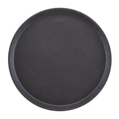 "Cambro® Camtread Round Tray, Black, 9"" - RFS025/900CT110"