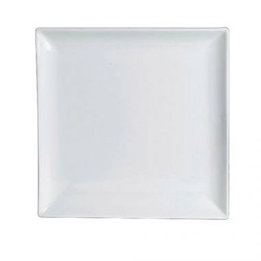 """Steelite® Varick Cafe Porcelain Square Plate, White, 5.5"""" - RFS066/6900E541"""