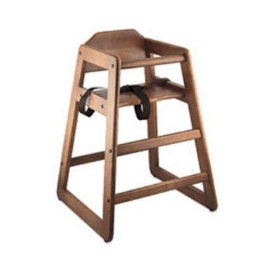 Browne® Wooden High Chair, Walnut - RFS016/80976