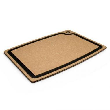 "Epicurean®Gourmet Cutting Board, Natural w/ Slate Inlay, 15"" x 11"" - RFS255/003-15110102"