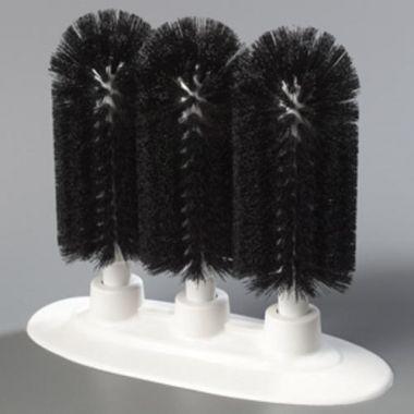 "Carlisle® Sparta Triple Glass Washer 8"", Black - RFS376/40461 03"