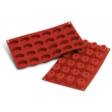 Eurodib® Silikomart Oval Savarin Mold, 0.5oz - RFS3478/SF083