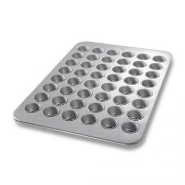 "Bundy Chicago Metallic® Mini Muffin Pan, 18"" x 26"" - RFS172/45255"