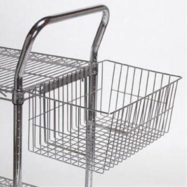 """Tarrison® Wire Utility Basket, 12"""" x 10"""" x 4"""" - RFS143/TS-UB"""