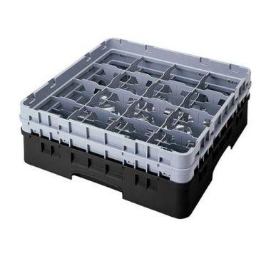Cambro® Camrack Glass Rack w/2 Extenders, Full Size - RFS025/16S534110