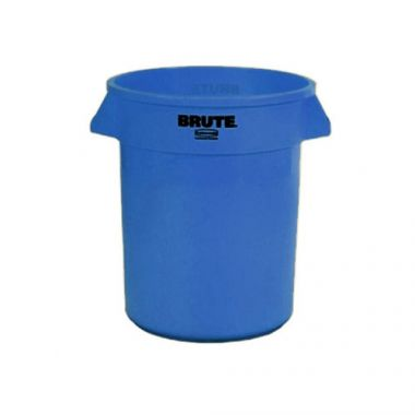 Rubbermaid® BRUTE Container 20 Gal, Blue - RFS152/FG262000BLUE