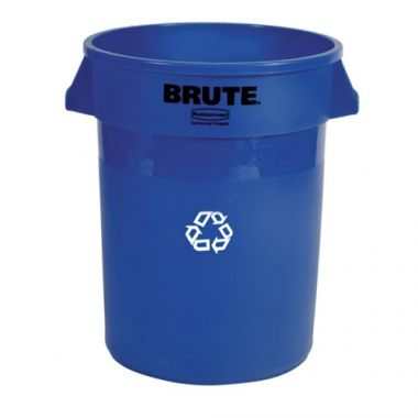 Rubbermaid® BRUTE Recycling Container 20 Gal, Blue - RFS152/FG262073BLUE