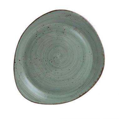 """Continental® Rustics Green Pasta Plate, 8.2"""" x 9.6"""" - RFS674/30PEB232-05"""