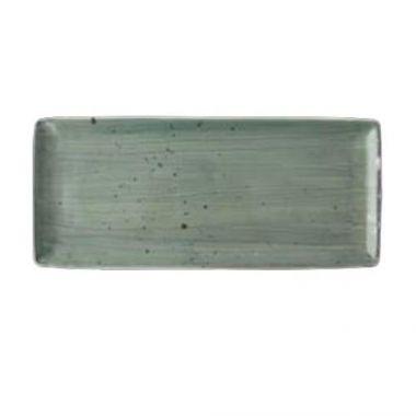 "Continental® Rustics Green Rectangle, 14.4"" x 6.3"" - RFS674/33RECT204-05"