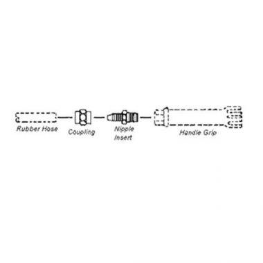 T&S® Hose Reel Repair Kit, Includes Coupling & Nipple Insert - RFS036/045A