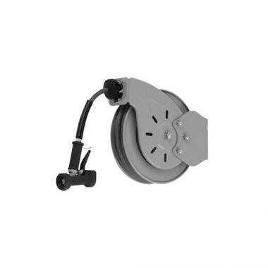 """T&S® Hose Reel System Open, Epoxy Coated Steel, 3/8"""" x 35ft Hose W/ Rear Trigger Water Gun - RFS036/B-7232-02"""