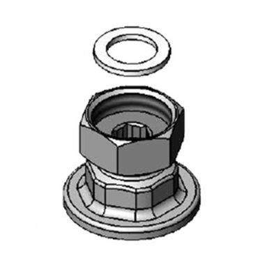 """T&S® Union Coupling Inlets, Female Flanged, 1/2"""" - RFS036/00AA"""
