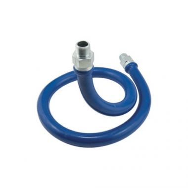 "Dormont® Braided Connector Hose, Blue, 36"" x 3/4"" - RFS074/1675BP36"