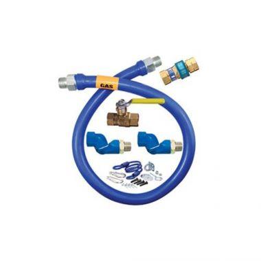 """Dormont® Moveable Gas Connector Kit, Quick Disconnect, 3/4"""" x 36"""" - RFS074/1675KIT2S36"""