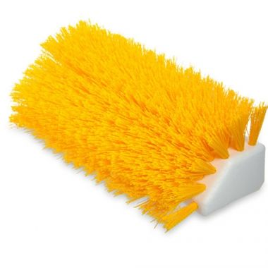 "Carlisle® Sparta Hi-Lo Floor Brush Head (only), Yellow, 10""L x 4-1/2""W - RFS376/40423EC04"