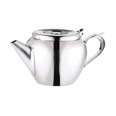 Browne® Teapots Stackable W/ Strainers, 32oz - RFS016/515153