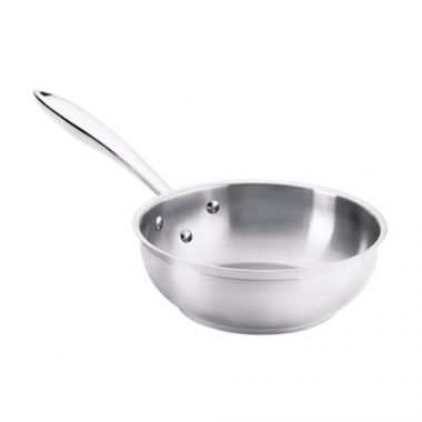 Browne® Thermalloy Saute Pan, Stainless Steel, 1.2QT - RFS016/5724041