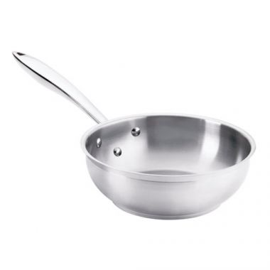 Browne® Thermalloy® Saute Pan, Stainless Steel, 2QT - RFS016/5724042