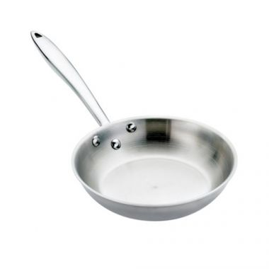 """Browne® Thermalloy®Tri-Ply Fry Pan, Natural Finish, 8""""- RFS016/5724092, Free Shipping in Canada. Shop Linen Plus"""