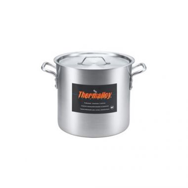 Browne® Thermalloy Stock Pot, Aluminum, 8Qt - RFS016/5814108