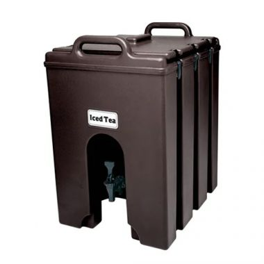 Cambro® Insulated Camtainer, Dark Brown, 11.75Gal - RFS025/1000LCD131