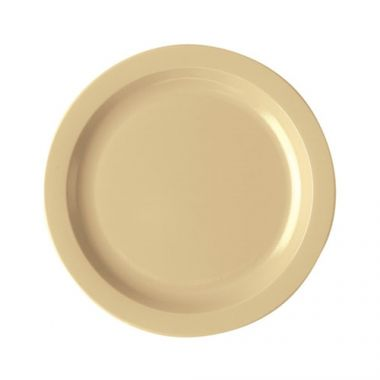 "Cambro® Camwear Plate, 10"", Beige, (CS/48) - RFS025/10CWNR133"