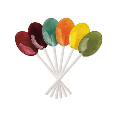 Dr John's Xylitol Lollipops Assorted Fruit Oval Shape 2.5 lbs