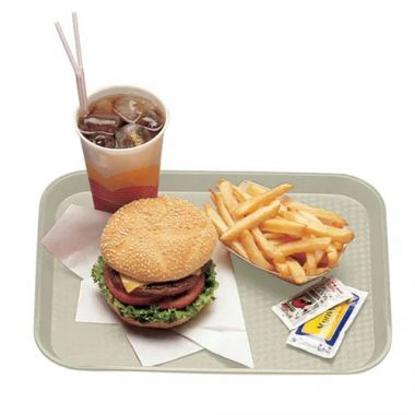 "Cambro® Fast Food Tray, Light Peach, 12"" x 16"" - RFS025/1216FF106"