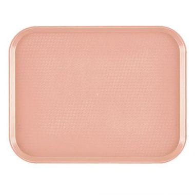 """Cambro® Fast Food Tray, Blush, 14"""" x 18"""" - RFS025/1418FF409"""