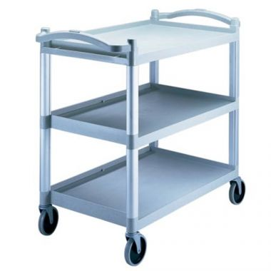 Cambro® KD Utility Cart, Speckled Gray, 400lbs - RFS025/BC340KD480