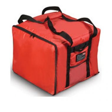 """Rubbermaid®PROSERVE®Professional Pizza Delivery Bag, Red, Medium, 17"""" x 17"""" x 13"""" - RFS152/FG9F3800RED"""