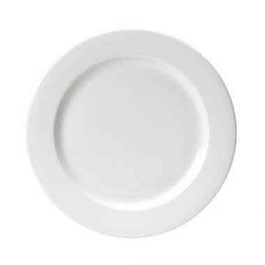 "Steelite® Monaco Flat Rim Plate, 10"" - RFS066/9001C302"