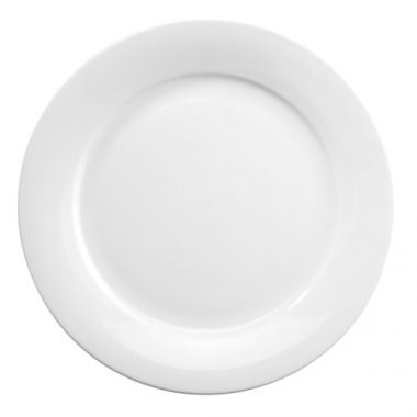 "Churchill® Art de Cuisine™ Mid-Rim Plate, White, 10-5/8""- RFS1063/ZCAPO111"