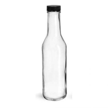 Clear Glass Woozy Bottle, 8oz - RFS1807/4045-17