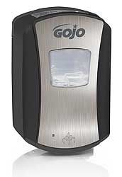 IGT Soap dispenser BB, LTX, black & chrome