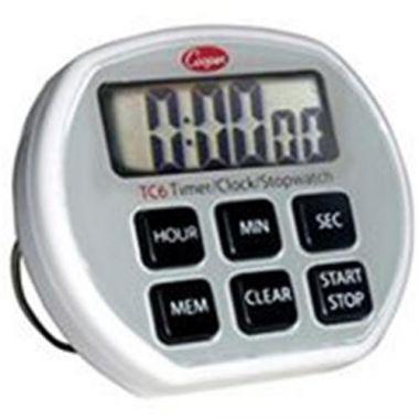 Cooper Atkins® Electronic Timer/Clock/Stopwatch - RFS3358/TC6-0-8
